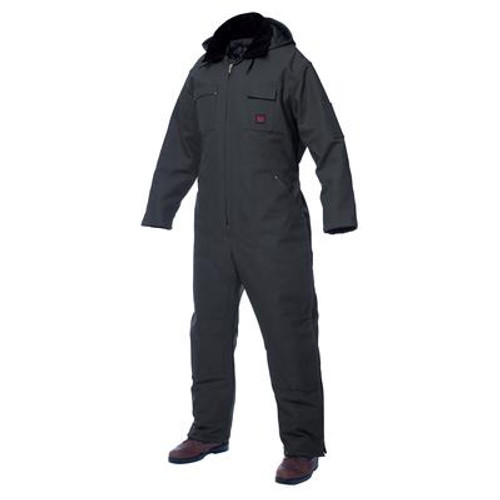 Heavyweight Coverall Black Large