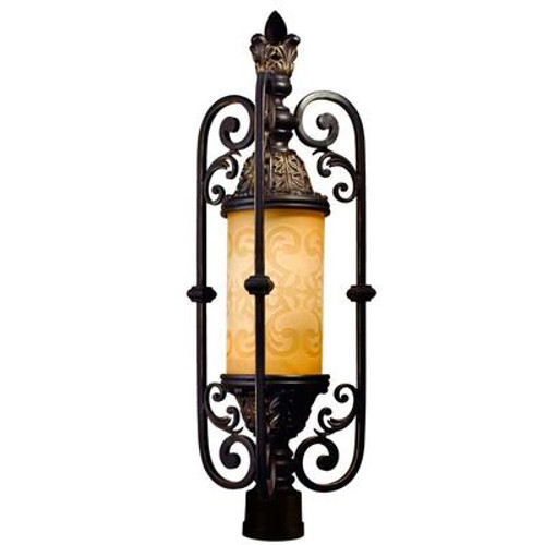 Glenhaven Collection 1 Light Outdoor Post Mount