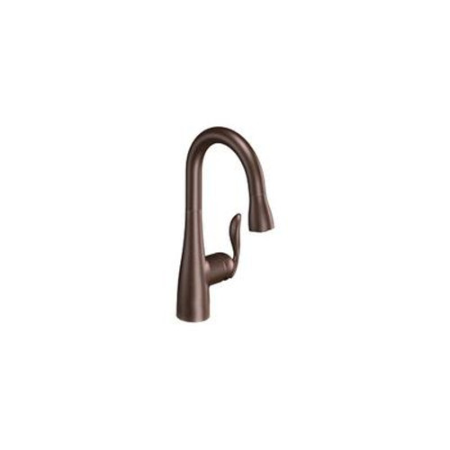 Arbor Single Handle Pulldown Bar Faucet Featuring Reflex in Oil Rubbed Bronze