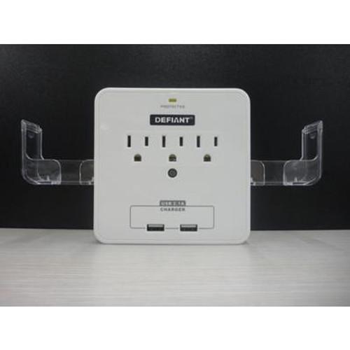 3 Outlet Smart Phone Holder/Charging Station
