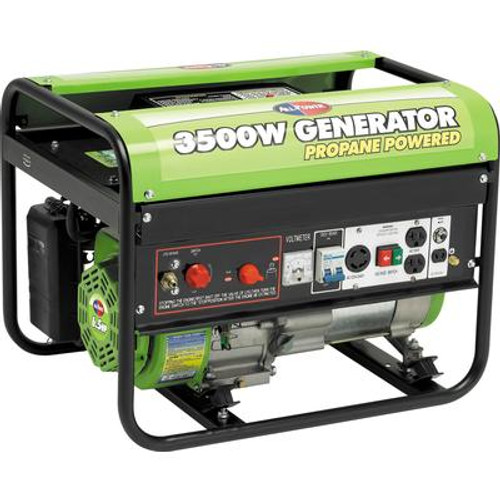 3500 Watt Peak 6.5HP OHV Propane Powered Generator