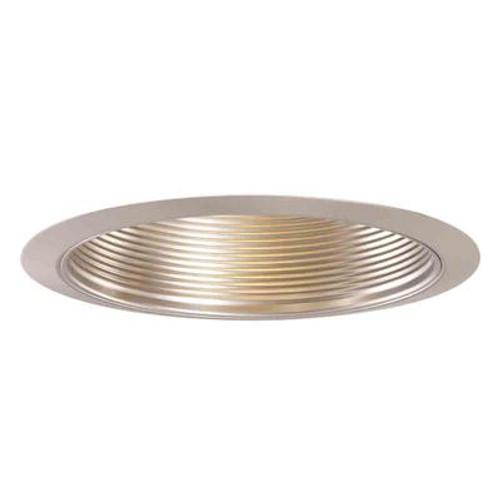 Halo 5001SN Satin Nickel Metal Baffle and Trim Ring-5 Inch Aperture
