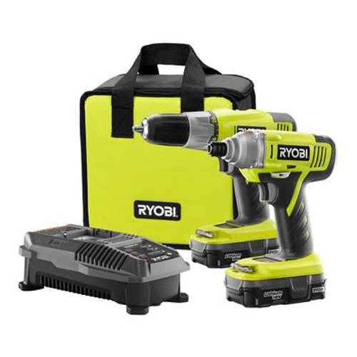 ONE+ Cordless Drill and Impact Driver Kit - Lithium Battery - 18V