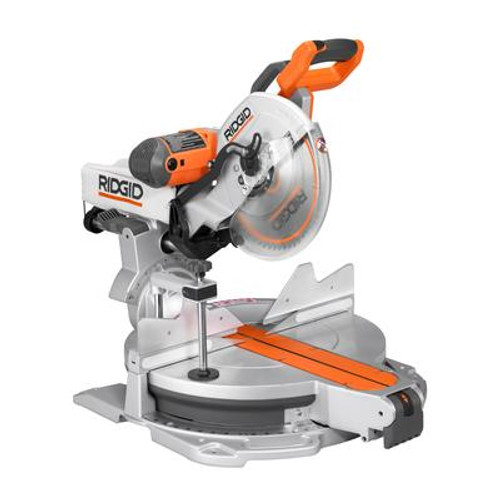 12 In. Sliding Compound Mitre Saw with Adjustable Laser