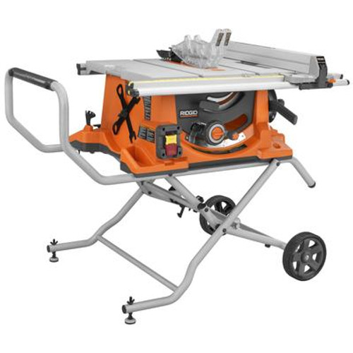 10 In. Portable Table Saw with Stand