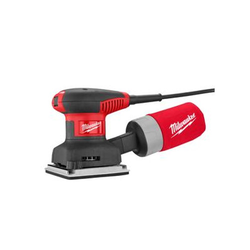 Milwaukee 1/4 Sheet Palm Sander with Bag