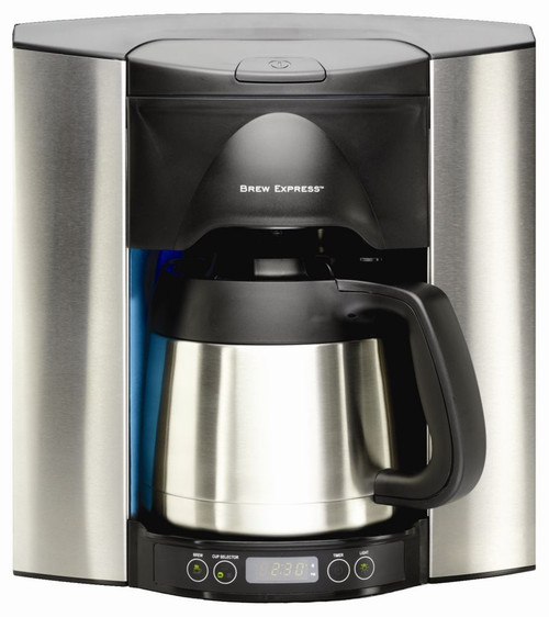 10-Cup Programmable - Stainless Steel Built-In Coffee Maker