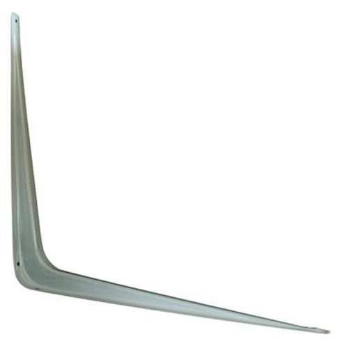 12 Inch X14 Inch  Grey Shelf Bracket