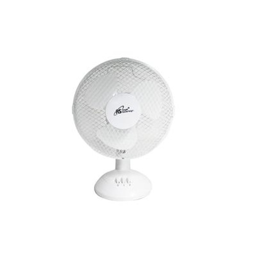 9 Inch Desk Fan - White