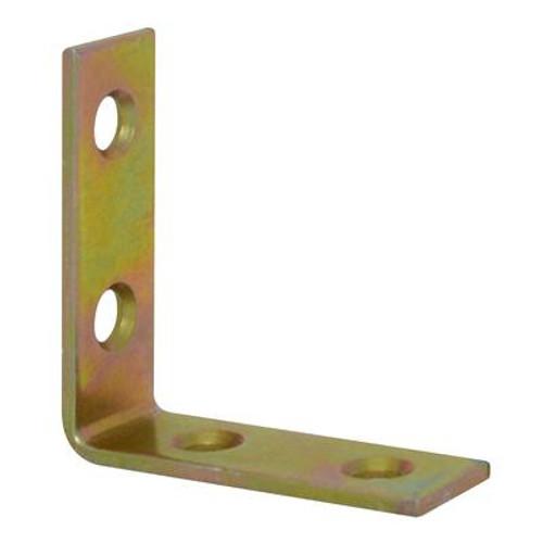 1-1/2 Inch  Brass Corner Brace 4pk