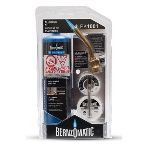 Bernzomatic Plumber's Kit with FatBoy Propane Cylinder