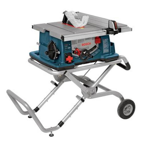 Worksite Table Saw (10 inch.) with Gravity-Rise Wheeled Stand
