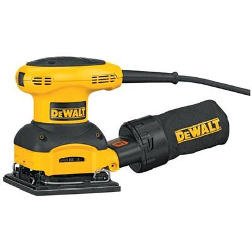 DeWALT Heavy-Duty 1/4 Sheet Palm Grip Sander Kit