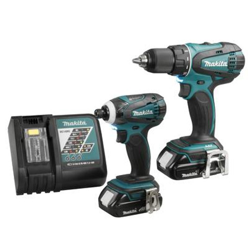LCT 2-Piece Impact Driver and Driver Drill Combo Kit