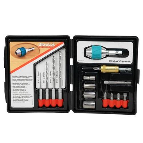 Ultra Lock Drill Set - 15 pieces