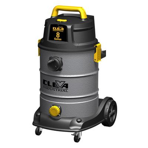 30 L / 8 US Gallon 2 Stage Industrial Wet Dry Vacuum 2.5 inches Hose