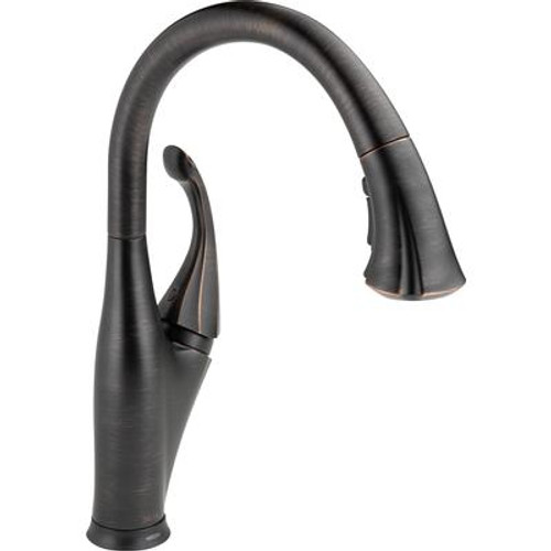 Addison Single-Handle Pull-Down Sprayer Kitchen Faucet in Venetian Bronze with Touch2O Technology and MagnaTite Docking