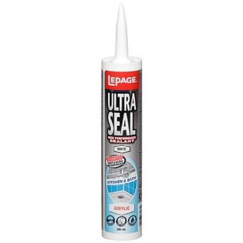 Lepage Ultra Seal Kitchen & Bath Acrylic Sealant