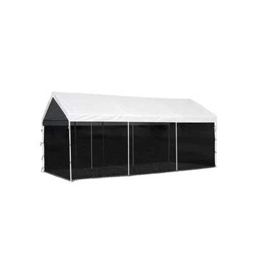 10 x 20 White Canopy with Extension Kit