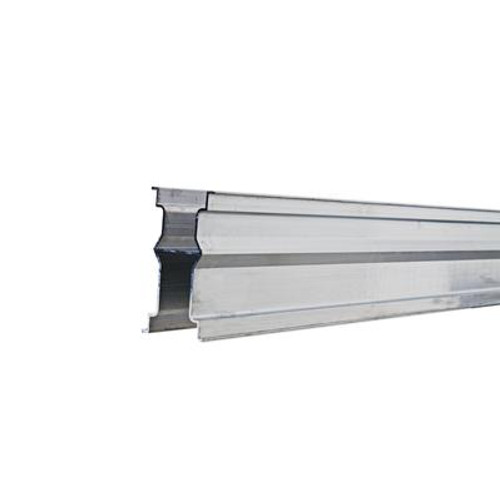 2-3/4  Inches  x 5-1/8  Inches  x 90-1/2  Inches  Aluminum Bottom Rail