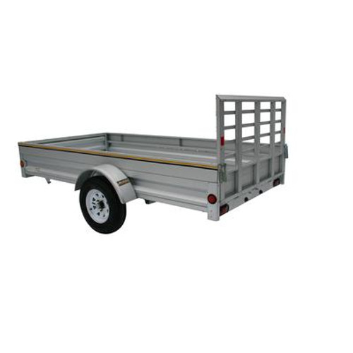 5 foot x 10 foot Galvanized Utility Trailer 60-120-TLL