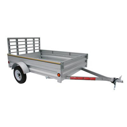 5 foot x 7 foot Galvanized Utility Trailer 60-084-TLL