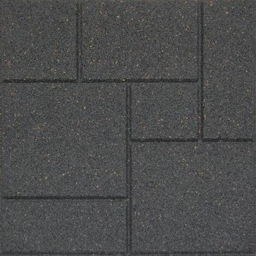 18x18 Inch EnviroTile Cobblestone Grey