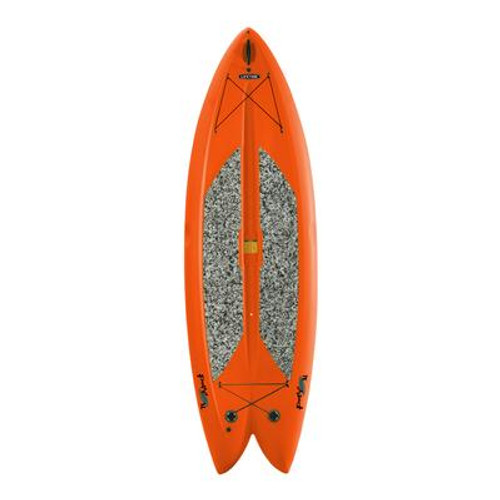 Orange Freestyle Paddleboard with Paddle