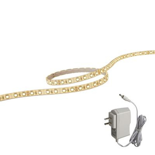 12 Inches White LED FlexTape With Plug In Dirver