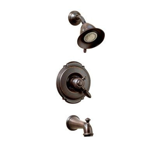 Victorian Collection 17 Series Tub and Shower Trim - Venetian Bronze