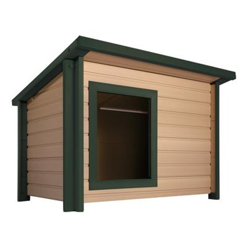 EcoChoice XL Rustic Lodge Dog House