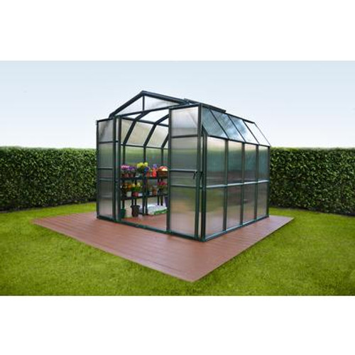 8 Feet 6 Inches x 8 Feet 6 Inches Grand Gardener Greenhouse