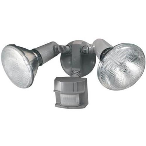 Heath Zenith 150 Degree Heavy Duty Motion Sensing Security Light - Gray