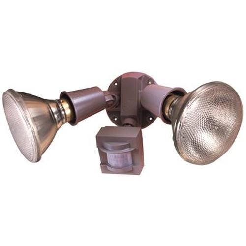 Heath Zenith 110 Degree PAR Motion Sensing Security Light - Grey