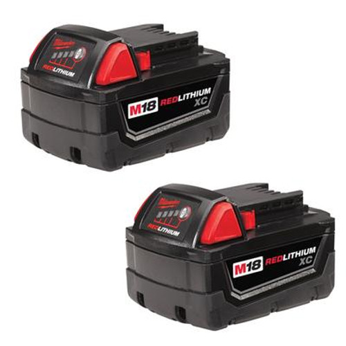 M18 XC High Capacity Redlithium Battery Two Pack