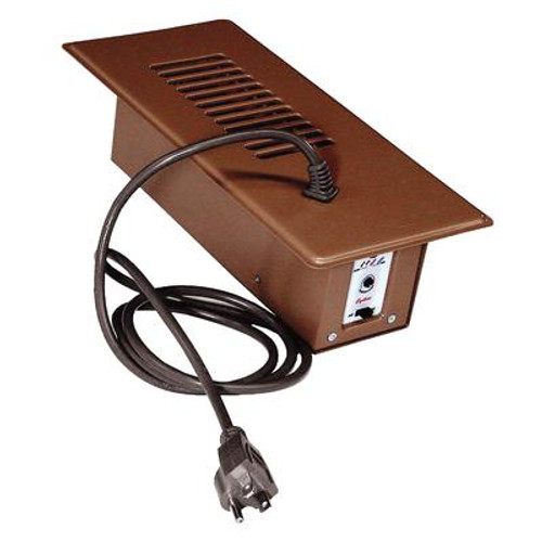 Brown Booster Fan Plus  with Built-In Thermostat