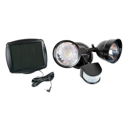 Solar Dual Head Motion Security Light