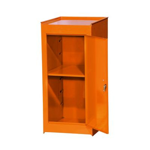 15 Inch Orange One Shelf Side Locker