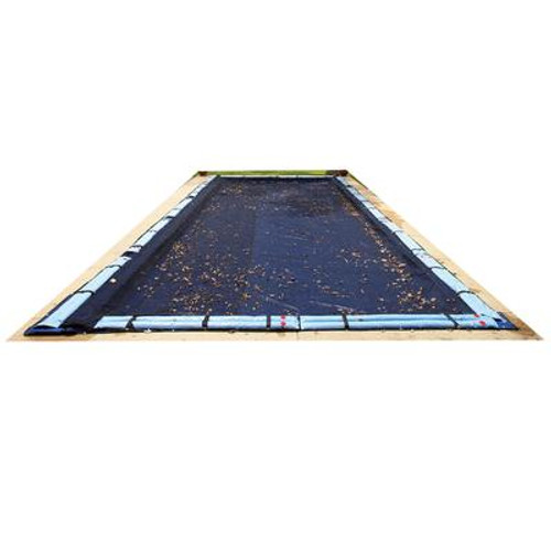 12  Feet  x 24  Feet  Rectangular Leaf Net In Ground Pool Cover