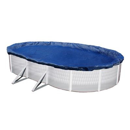 15-Year 16 Feet x 25 Feet Oval Above Ground Pool Winter Cover