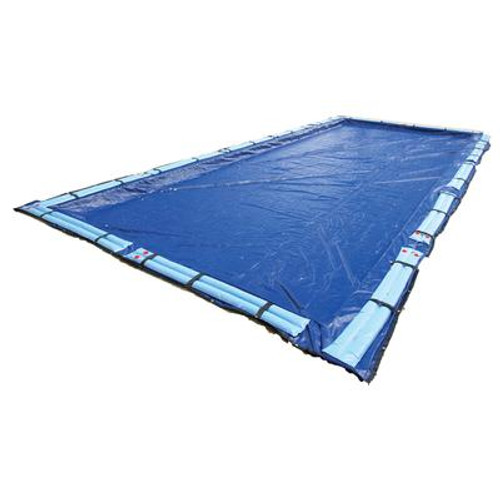 15-Year 16 Feet x 24 Feet Rectangular In Ground Pool Winter Cover
