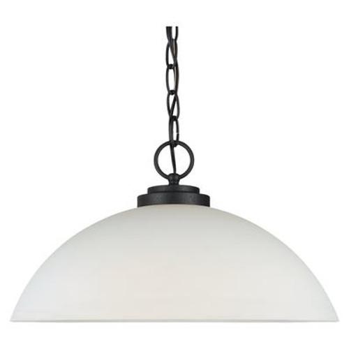 1 Light Blacksmith Incandescent Pendant