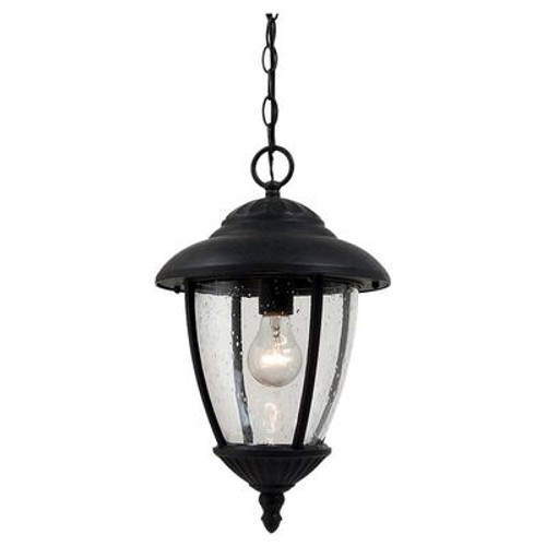 1 Light Oxford Bronze Incandescent Outdoor Pendant