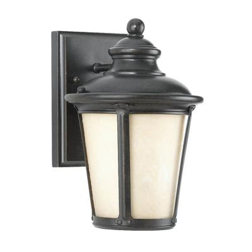 1 Light Burled Iron Incandescent Outdoor Wall Sconce