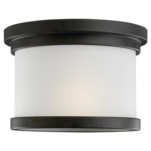 1 Light Forged Iron Incandescent Ceiling Fixture