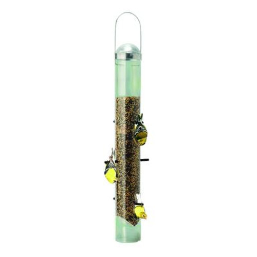Patented Deluxe Upside Down Thistle Feeder