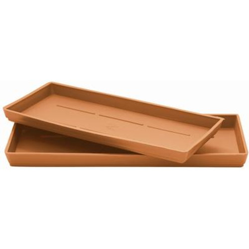14 In. Saucer - Window Box Plasticotta