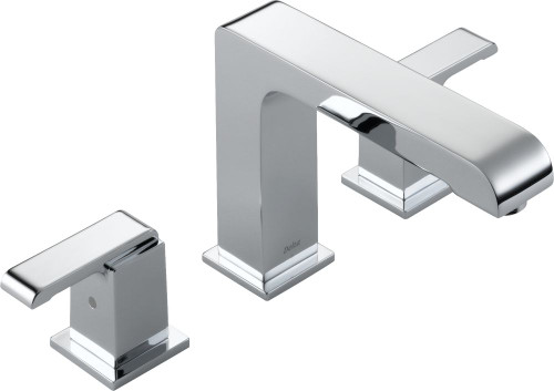 Arzo 2-Handle Roman Tub Trim Kit Only in Chrome (Valve not included)