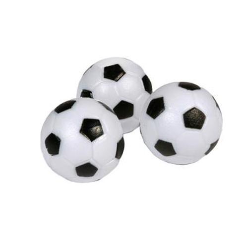 Soccer Ball Style Foosballs - 3-pack
