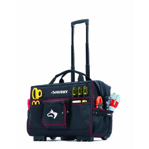 Husky 22inch Pro Grade Rolling Tote